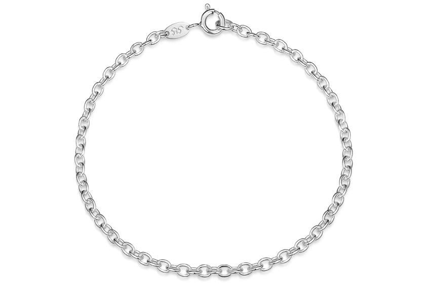 Erbskette Armband 2,8mm - 925 Silber