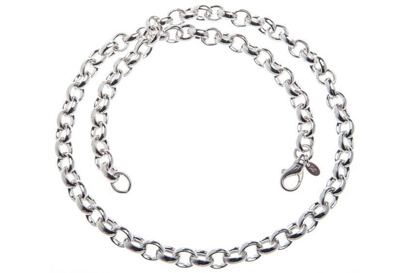 Erbskette 8,2mm - 925 Silber