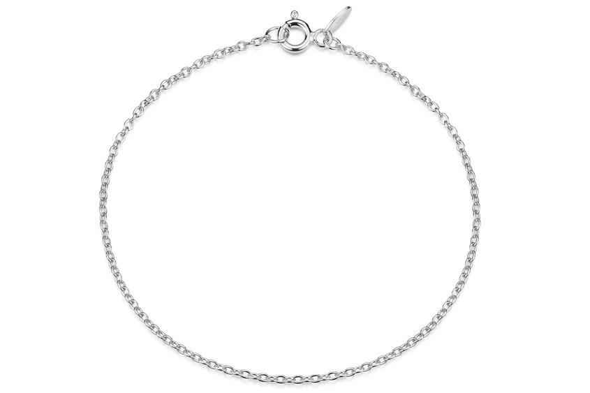 Erbskette Armband 1,6mm - 925 Silber