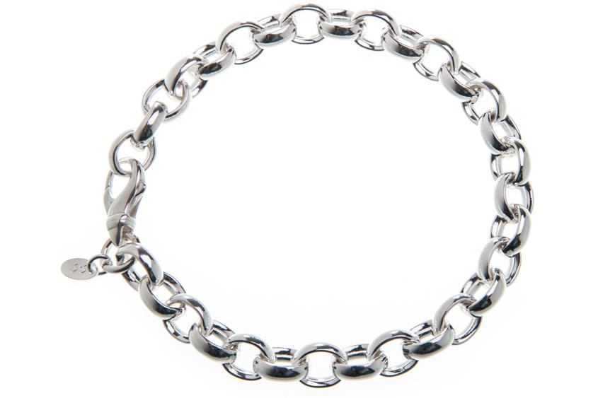 Erbskette Armband 8,2mm - 925 Silber