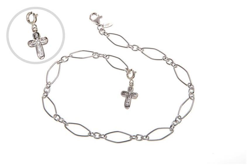 Fußkette Maien - 925 Silber