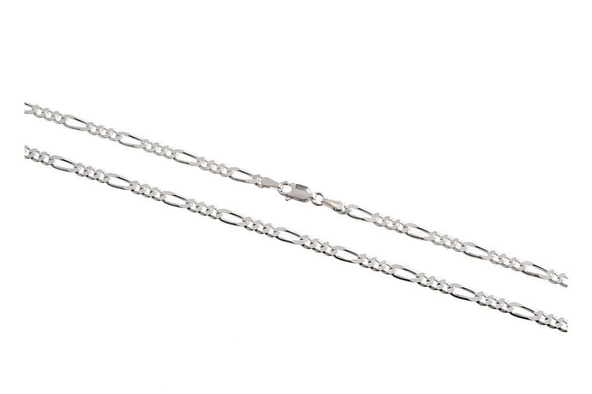 Figarokette 3,4mm - 925 Silber