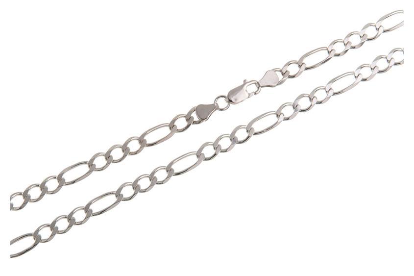 Figarokette 6,5mm - 925 Silber