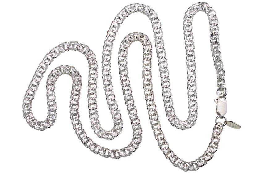 Garibaldikette 3,6mm - 925 Silber