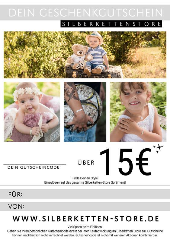 Gutschein 15 EUR Kids