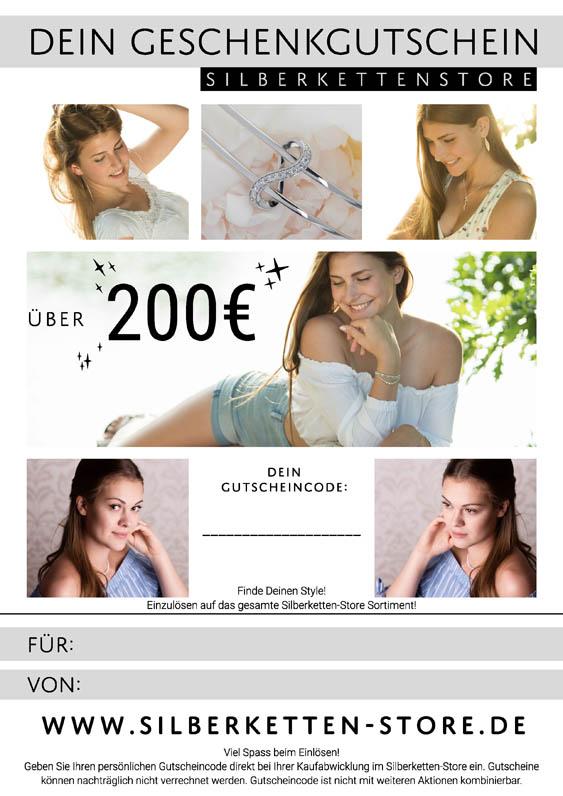 Gutschein 200 EUR Damen
