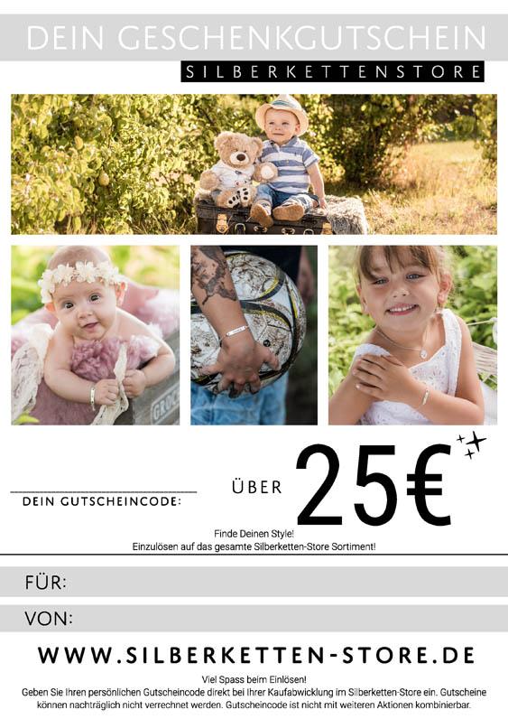 Gutschein 25 EUR Kids