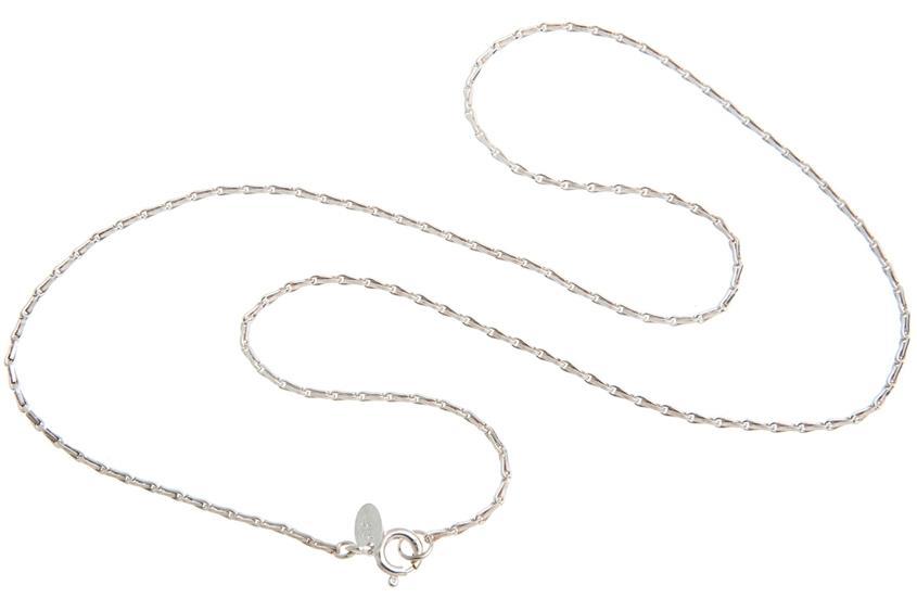 Haferkornkette 1,5mm - 925 Silber
