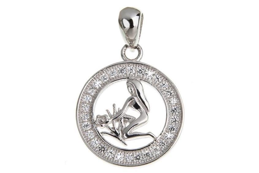 Anhänger Sternzeichen Jungfrau - 925 Silber