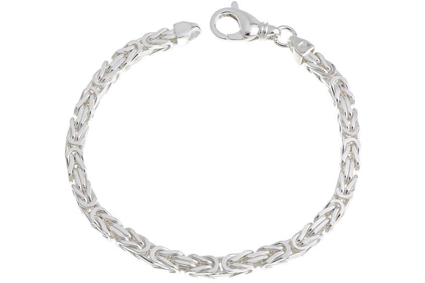 Königskette Armband 5mm - 925 Silber