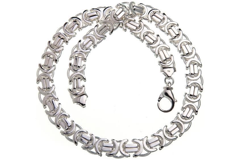 Königskette, flach 14mm