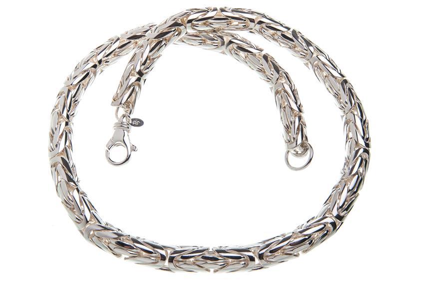 Königskette, rund 10mm - 925 Silber
