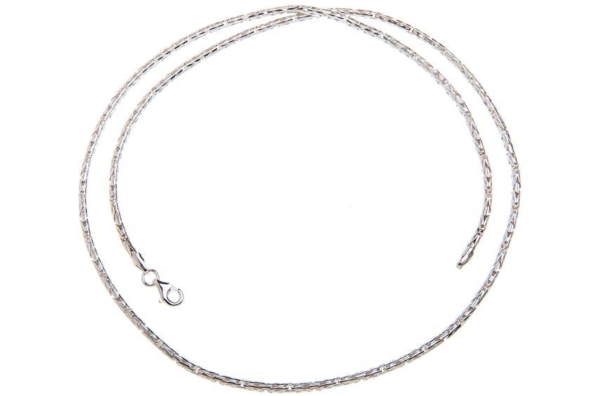 Königskette, rund 2,3mm - 925 Silber