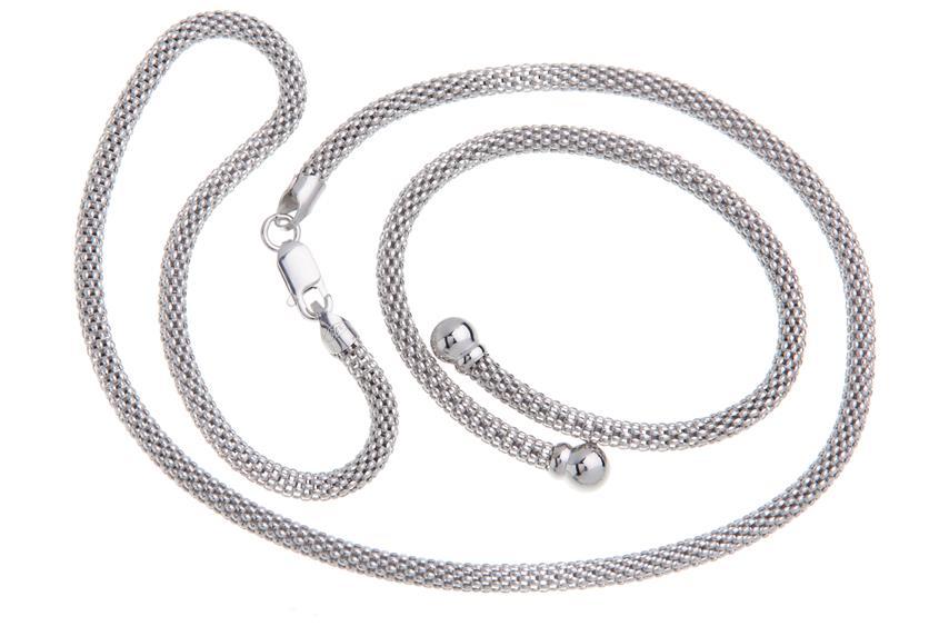Fashion Line Kette - 925 Silber KRN8-450