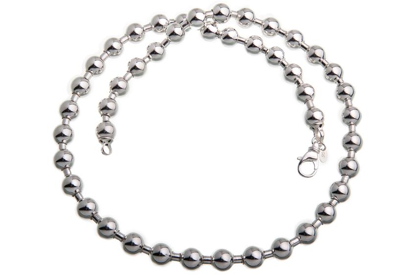Kugelkette 10mm - 925 Silber