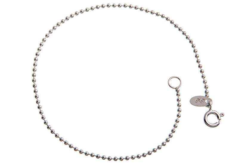 Kugelkette Armband 1,5mm - 925 Silber