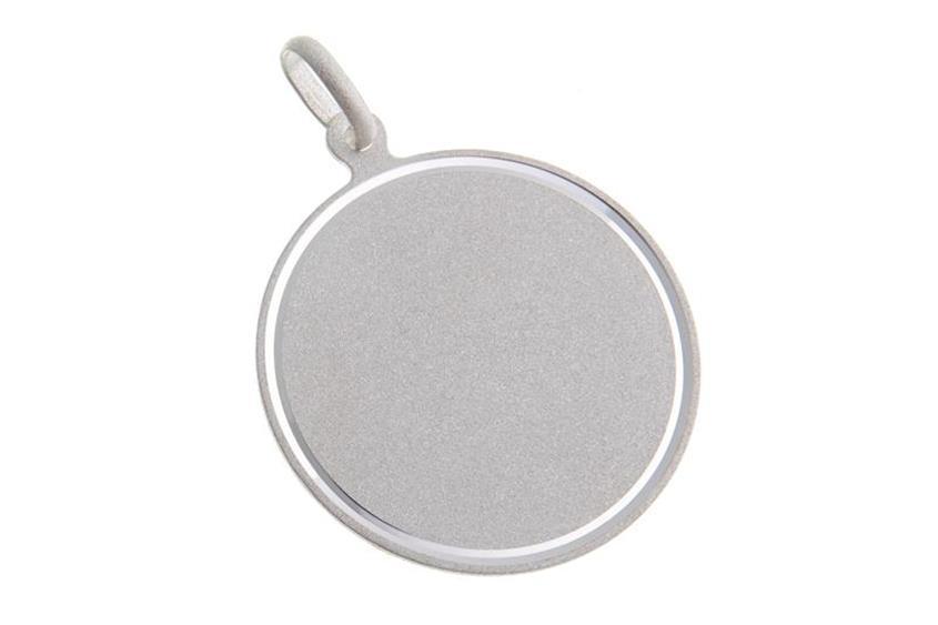 Gravuranhänger rund - 925 Silber Mod. 025MT30