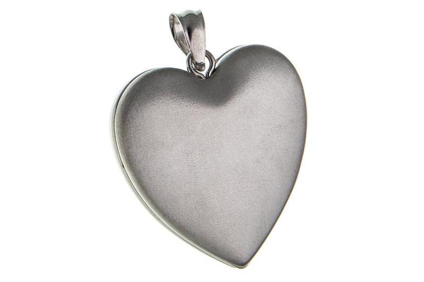 Anhänger Medaillon Herzen 925 Silber