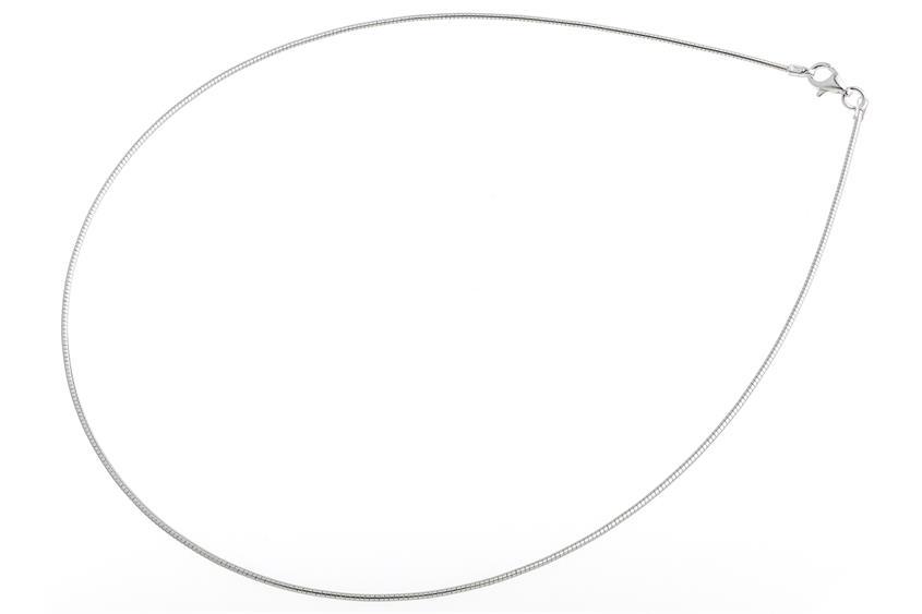 Omegahalsreifen 1,2mm - 925 Silber
