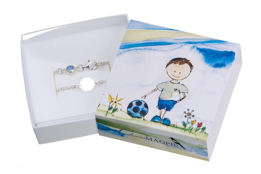 Kinder Armband Charly ChainMAGPIE- 925 Silber
