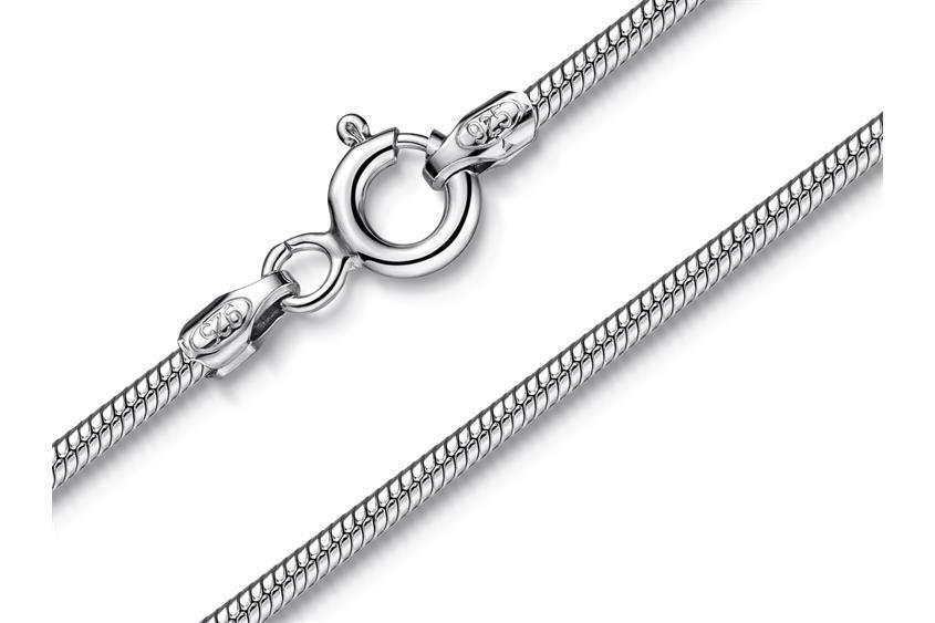 Schlangenkette 1,6mm - 925 Silber
