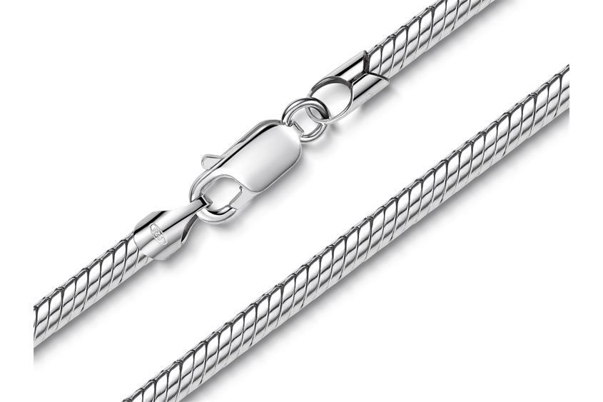 Schlangenkette 3,5mm - 925 Silber