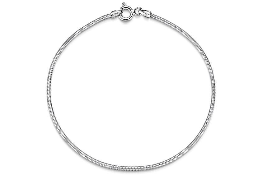 Schlangenkette Armband 1,6mm - 925 Silber
