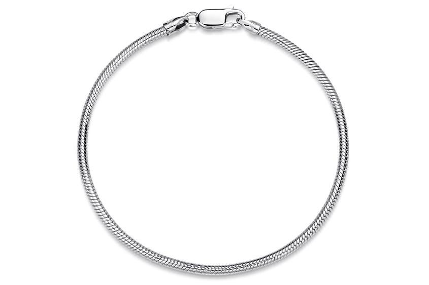 Schlangenkette Armband 2,2mm - 925 Silber