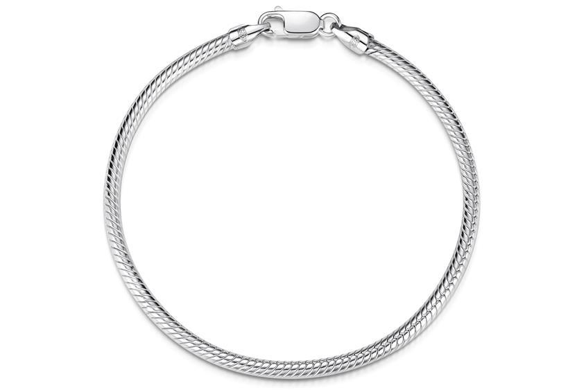 Schlangenkette Armband 3mm - 925 Silber