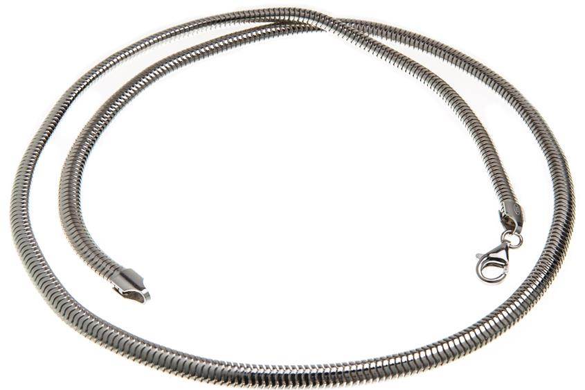 Schlangenkette, oval 4,5mm