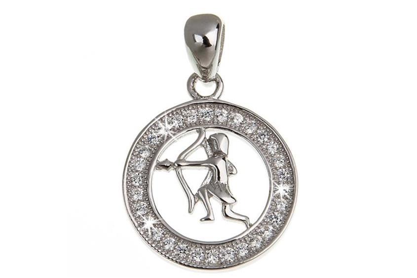 Anhänger Sternzeichen Schütze - 925 Silber