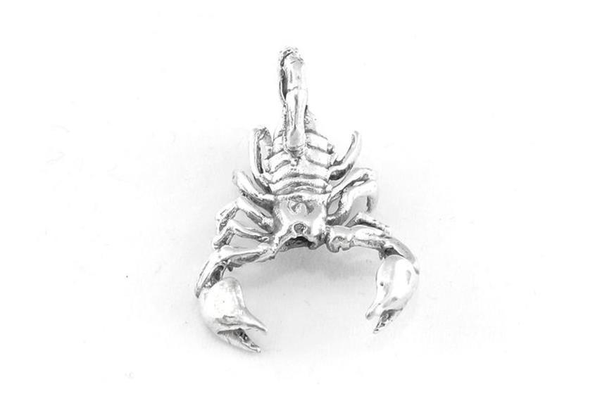 Anhänger Skorpion groß - 925 Silber