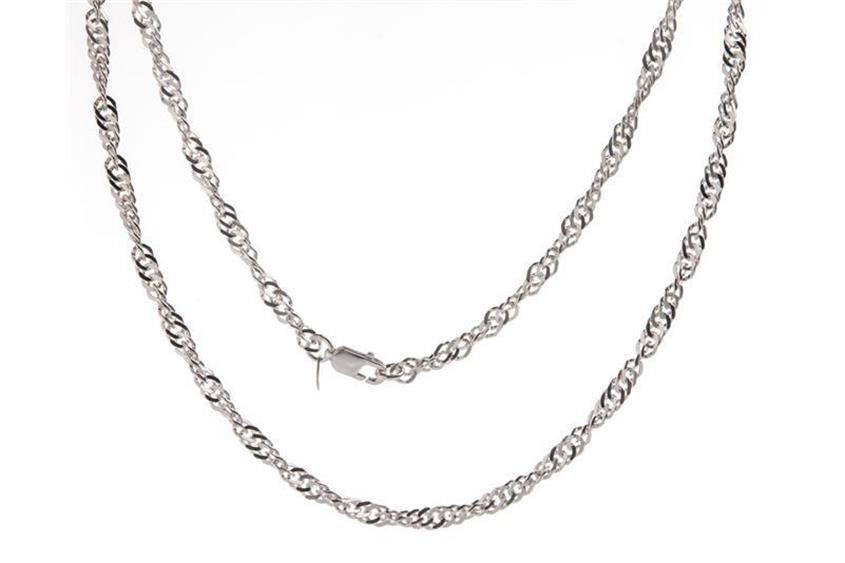 Singapurkette 4,5mm - 925 Silber