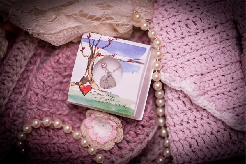 Kinder Kette mit Gravuranhänger Einhorn ChainMAGPIE - 925 Silber ChainMAGPIE 925 Silber