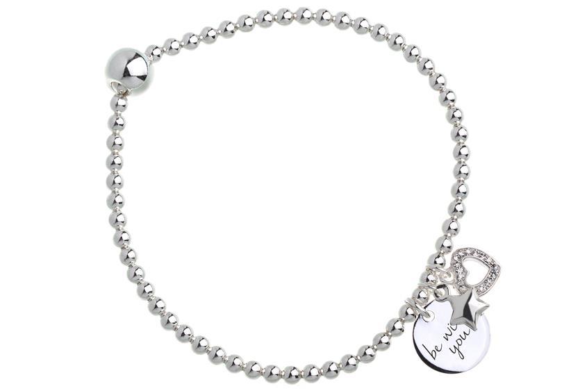 Elastic Elements Armband II - 925 Silber