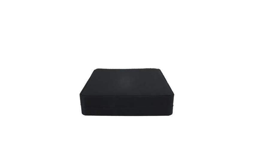 Geschenkverpackung, schwarz