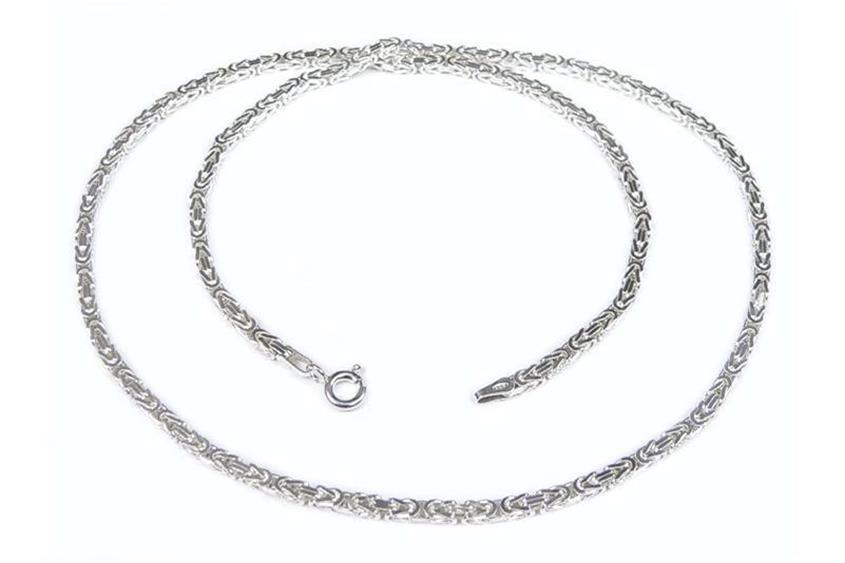 Kinder-Königskette 2,5mm - 925 Silber