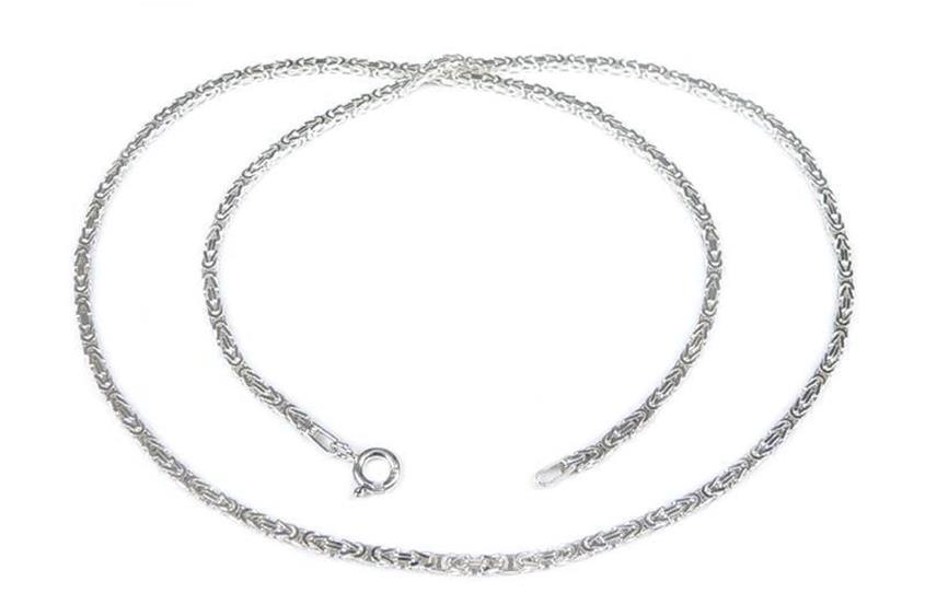 Kinder-Königskette 2mm - 925 Silber