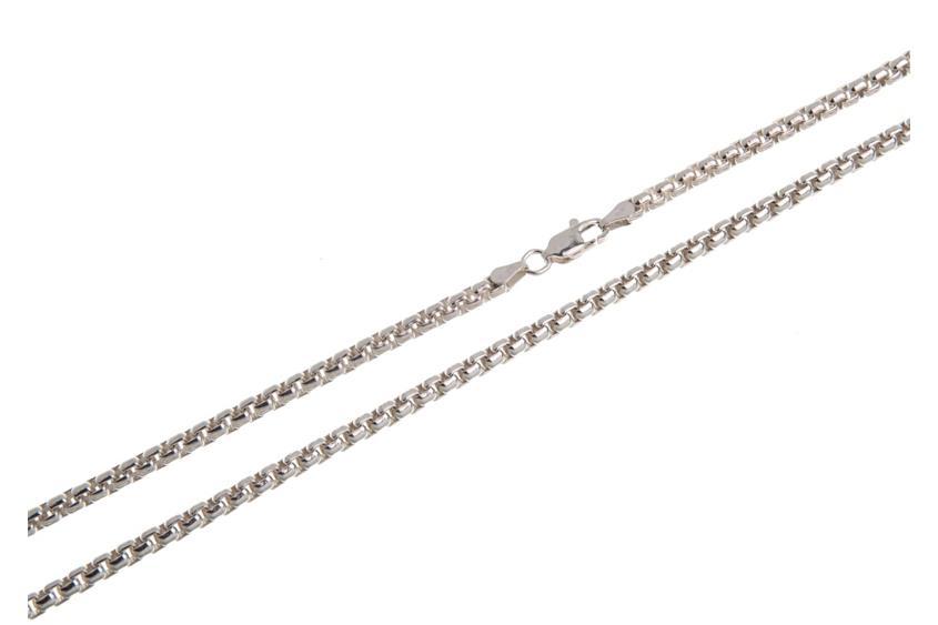 Veneziakette rund 3,7mm - 925 Silber