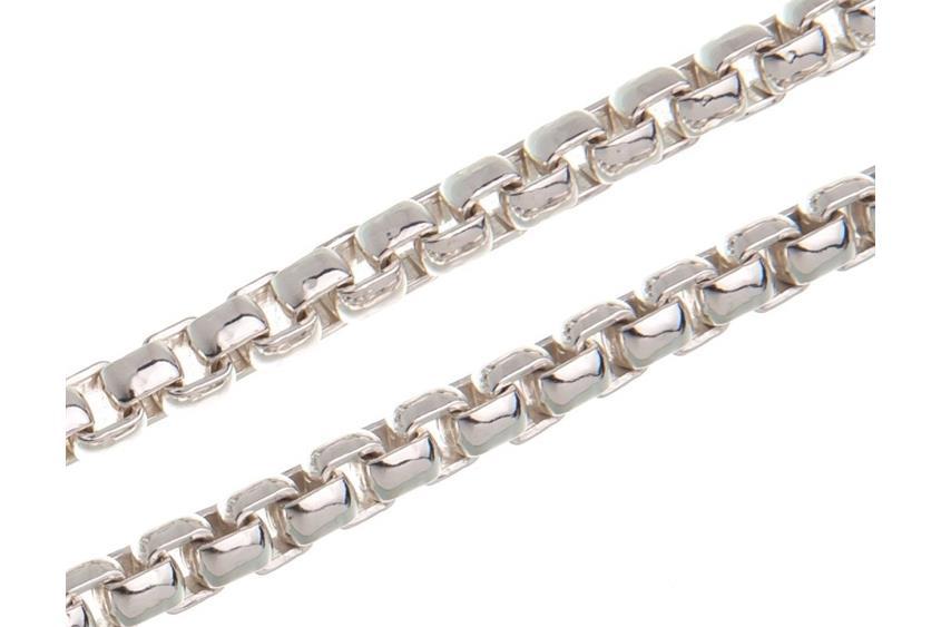 Veneziakette rund 5,3mm - 925 Silber