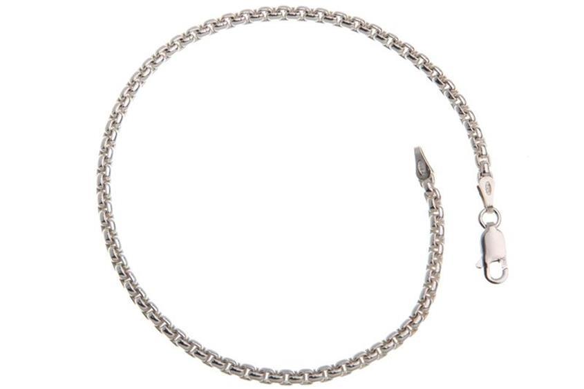 Veneziakette Armband rund 2,7mm - 925 Silber